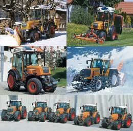 tracteur communale fendt