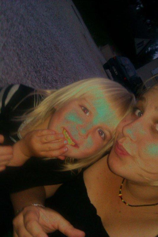moii et ma petite soeur <3