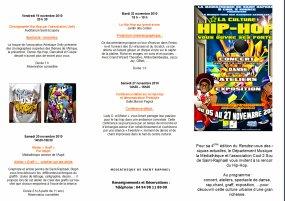 FESTIVAL HIP HOP A LA MEDIATHEQUE SAINT RAPHAEL