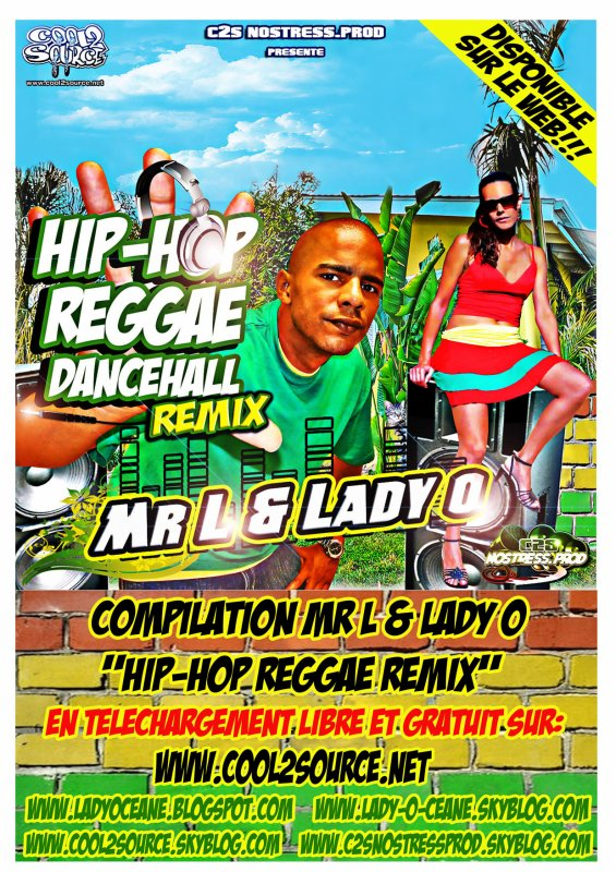 "NET TAPE ""HIP HOP REGGAE DANCEHALL Remix"" MR L & LADY O<<<<"