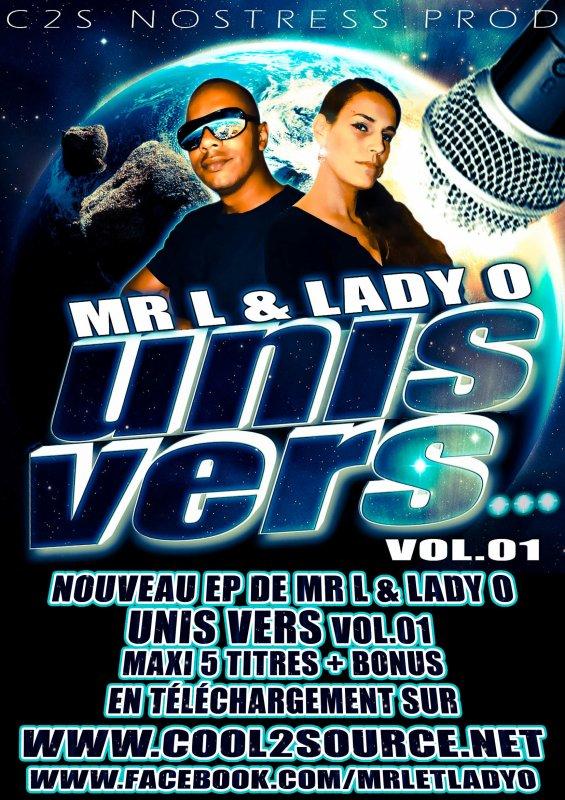 """TÉLÉCHARGES GRATUITEMENT """"UNIS VERS...""""  Vol.01 MR L & LADY O"""