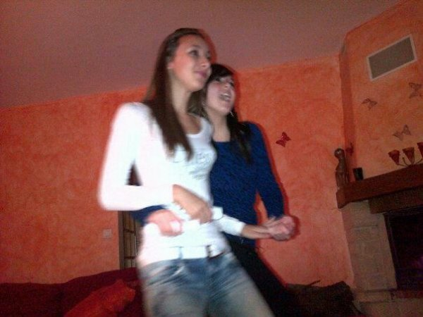 #Quand on joue à just dance en mode battle!<3