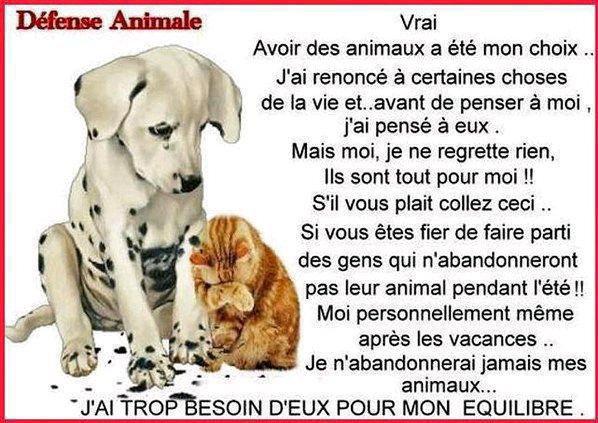 DEFENSE ANIMALE.