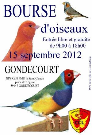 Bourse de GONDECOURT le samedi 15 septembre