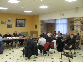 Réunion des Présidents durant le régional de LESTREM 2012