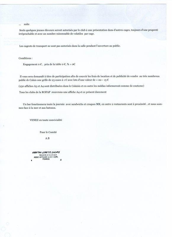 BOURSE DE CALAIS