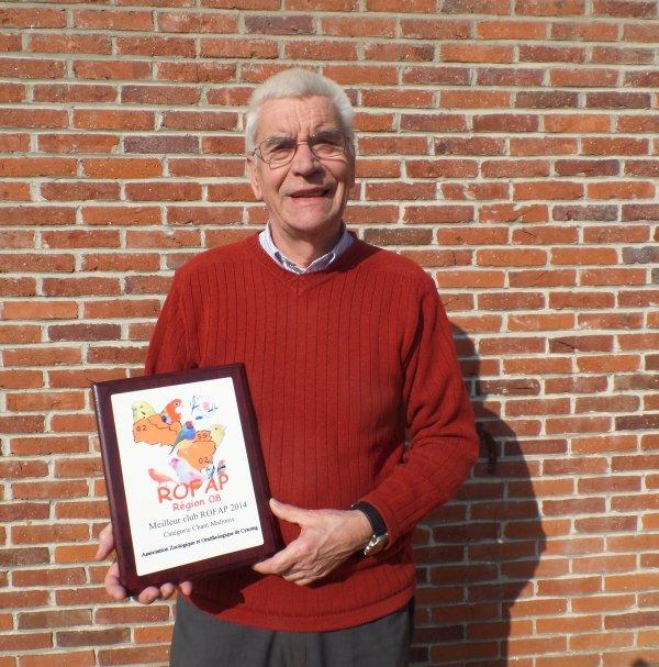 Récompenses des régionaux 2014.
