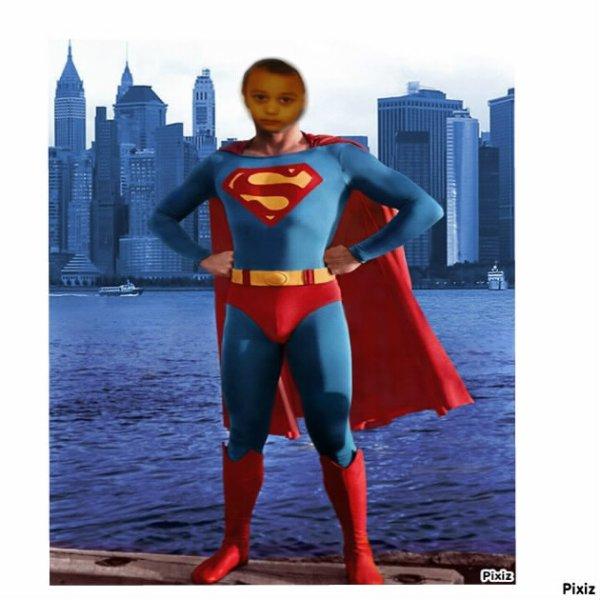 moi en superman