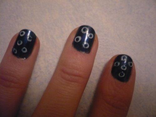 Nail art Bulles
