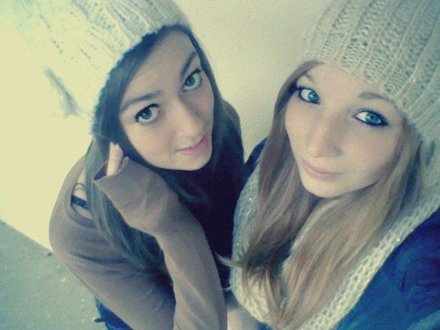 Une amitié qui dure et qui durera avec ma meilleure amie.