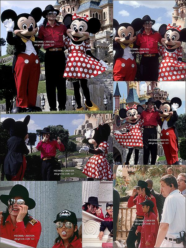 - 1992: Michael Jackson visite DisneyLand/EuroDisney avec Jordan Chandler. Que pensez-vous de sa tenue ? Et de cette sortie ? N'hésitez pas à y laisser vos avis ! TOP ? BOF ou bien alors FLOP ? -