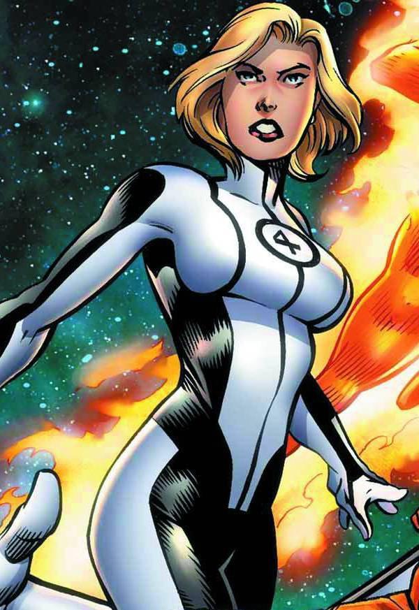 La femme invisible hero blog de marvelblog - Femme invisible 4 fantastiques ...