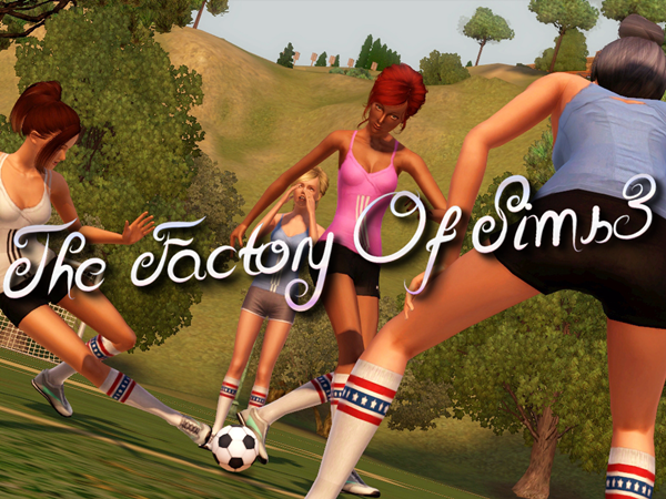 Welcome in the Factory of Sims 3