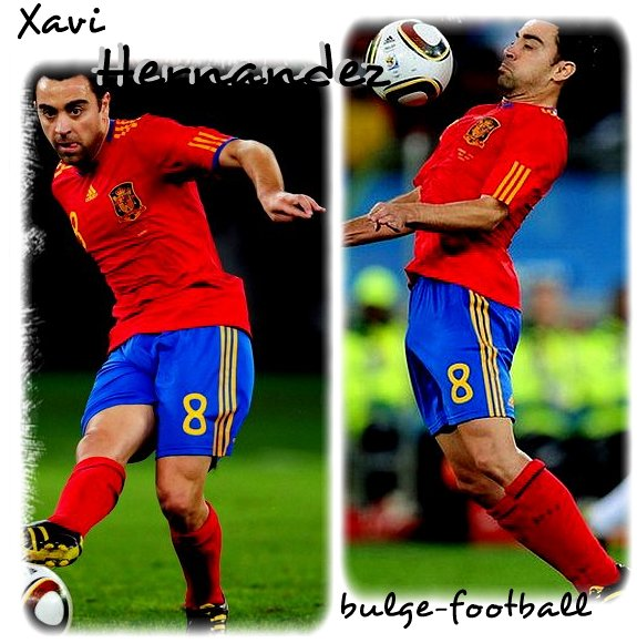 Xavi Hernandez bulge