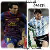 Lionel Messi lutin argentin big bulge