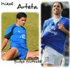 Mikel Arteta bulge