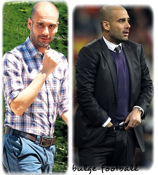Pep Guardiola big bulge