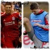 Steven Gerrard Big bulge