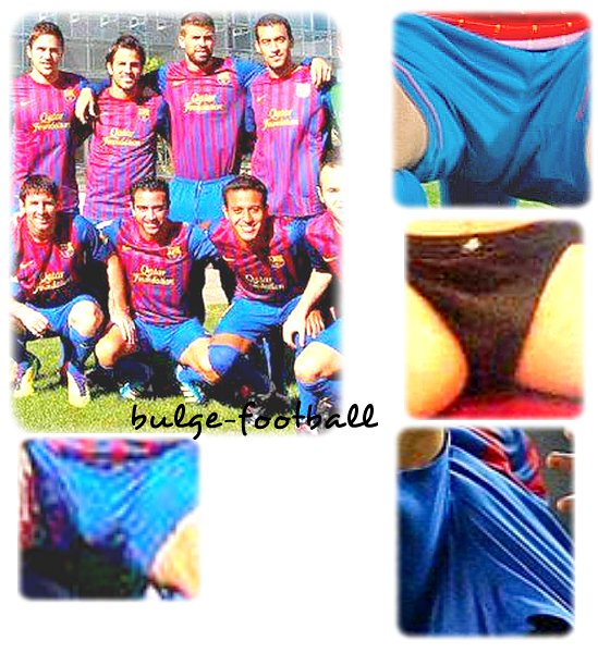 xavi Hernandez big bulge