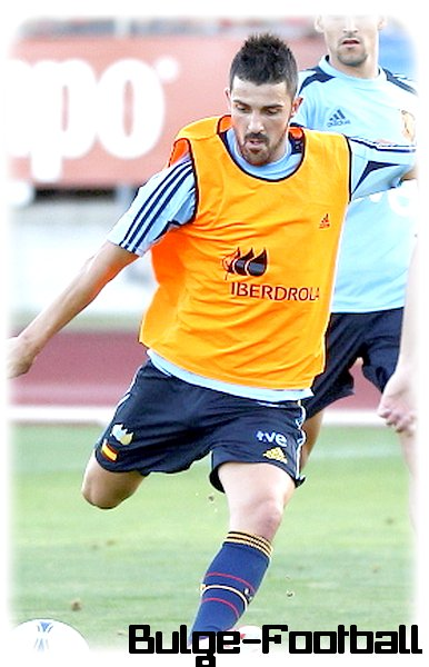 David villa retour en GRAND! big bulge