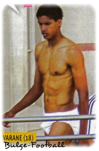 Raphael Varane presque 20 ans, Bulge