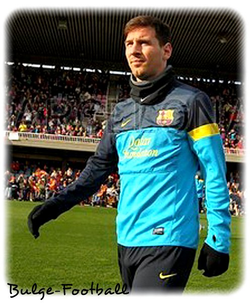 Lionel Messi bulge