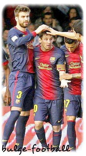 fc barcelona bulge : Gerard Piqué , Martin Montoya