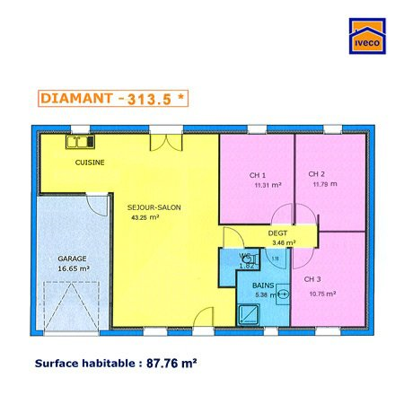Bonus 1 : Plan de la maison