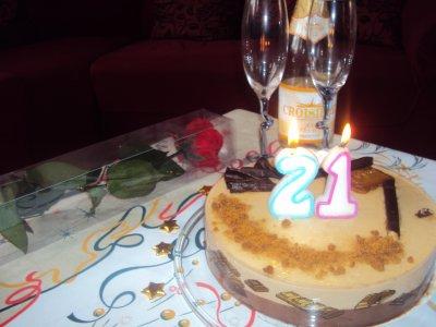 * 21eme birthay *