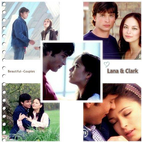 Clark et Lana