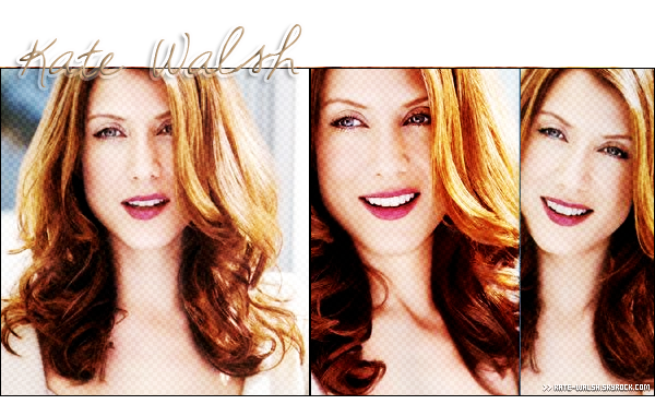 . Bienvenue sur Kate-Walsh, Ta source sur La sublime actrice Kate Walsh ! .