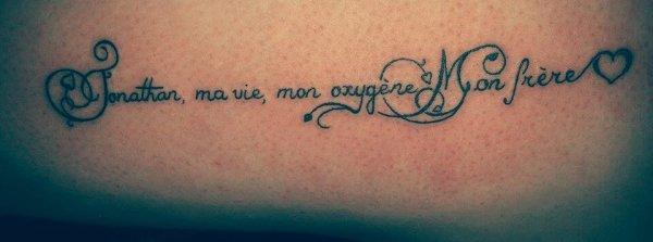 Ma vie , Mon Oxygene ♥