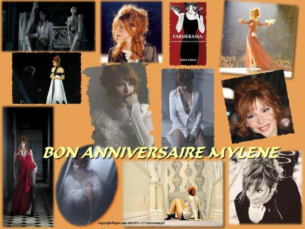 Bon anniversaire Mylène !