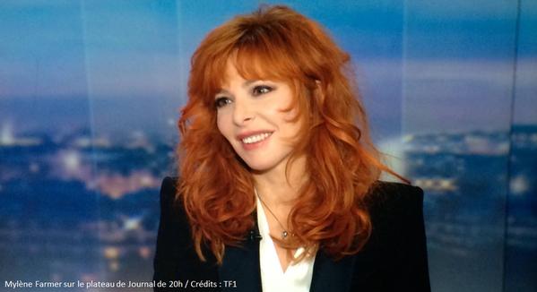 """Mylène Farmer au 20H de TF1 : """"Je ne suis pas quelqu'un de distant''"""