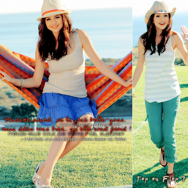 _Selly, sur le set du photoshoot de la nouvelle collection printemps de « Dream Out Loud » !