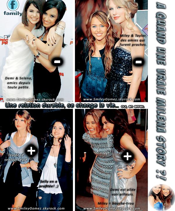 _« Le charabia entre copines » avec, Selena Gomez, Miley Cyrus, Demi Lovato & Taylor Swift !