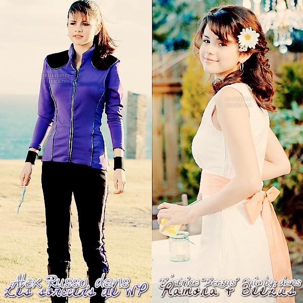 _ Quel personnage, joué par Selena Gomez dans un film, préférez-vous ?