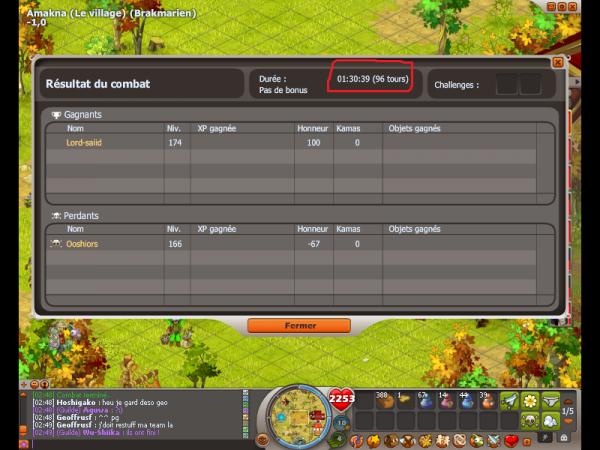 Agro sram vs sram en -1;0 résultat :D