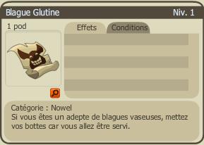 L'épée glutine de Nowel