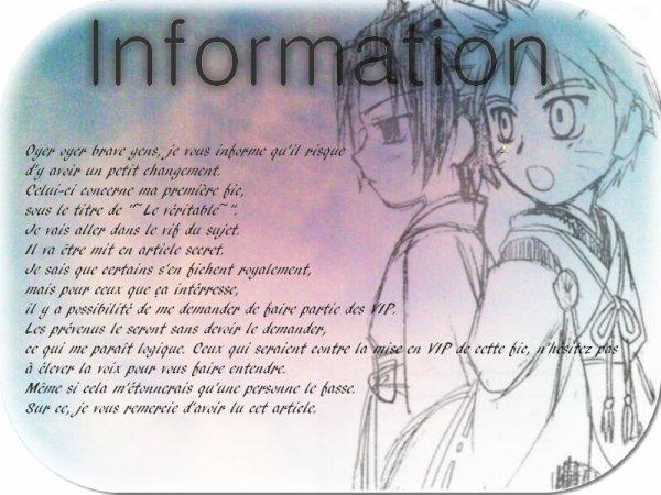 Info concernant la fic n°1