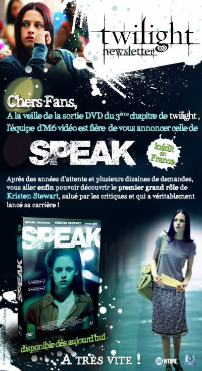 Sortie de Speak