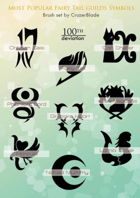 Les guildes le monde de fairy tail - Embleme fairy tail ...