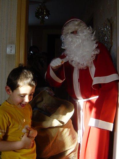Père Noël (j'avai 6 ans)
