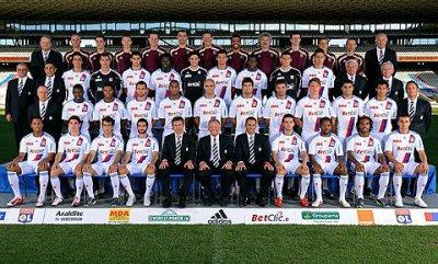 ekipe  de lyon 2010/2011