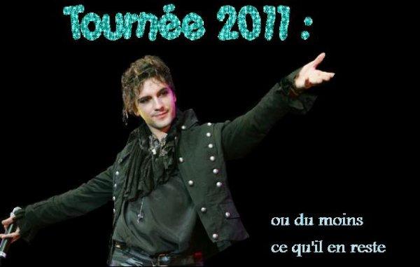Tournée 2011 !