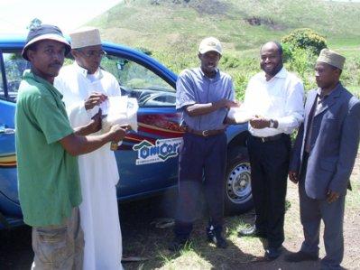 Le 1er riz made in Comores sur le marché