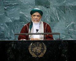 """Alloccution du président Sambi à l'ONU  Sambi sollicite l'ONU """"d'exiger de la France qu'elle respecte et se conforme au droit international"""""""