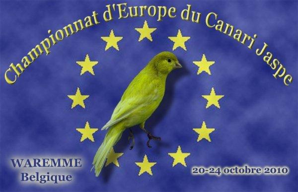 INSCRIPTION AU CHAMPIONNAT D'EUROPE DU JASPE  (jusqu'au 14 octobre)