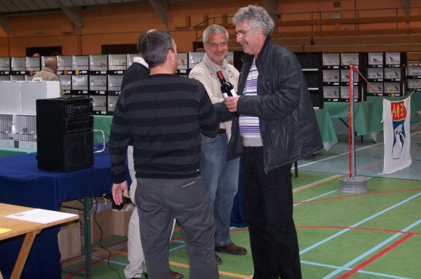 CHAMPIONNAT d'EUROPE 2010 (LA REMISE DES PRIX)