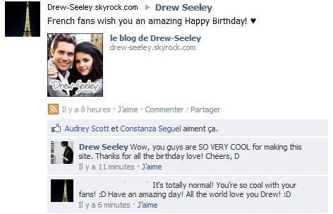 Happy Birthday Drew !